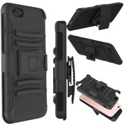 Tekcoo For Apple iPhone 6s / iPhone 6 / iPhone 6s Plus / iPhone 6 Plus Cases, Shock Absorbing Holster Locking Belt Clip Defender Heavy Full Body Kickstand Case Cover