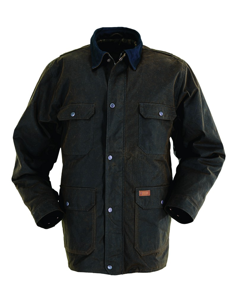 Outback Trading Jacket Mens Gidley Water-Repellent Breathable 2146
