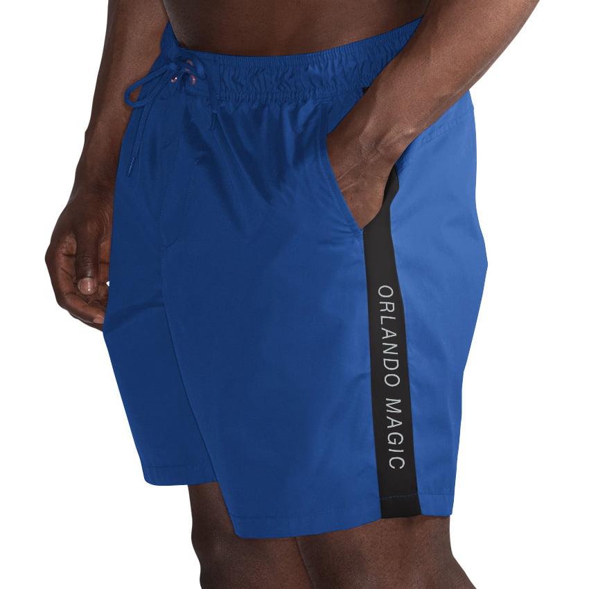 Orlando Magic G-III Sports by Carl Banks Volley Swim Trunks - Blue/Black