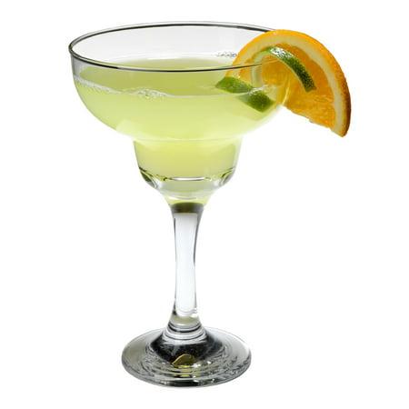 SET of 4-pc Luminarc 12 Oz Classic Margarita Cocktail Glasses on a stem ()