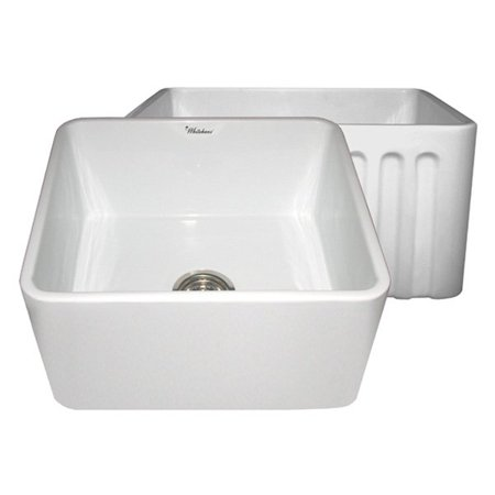 27 Inch Farmhouse Sink : ... Series WHFLPLN2018 30 in. Single Basin Farmhouse Sink - Walmart.com