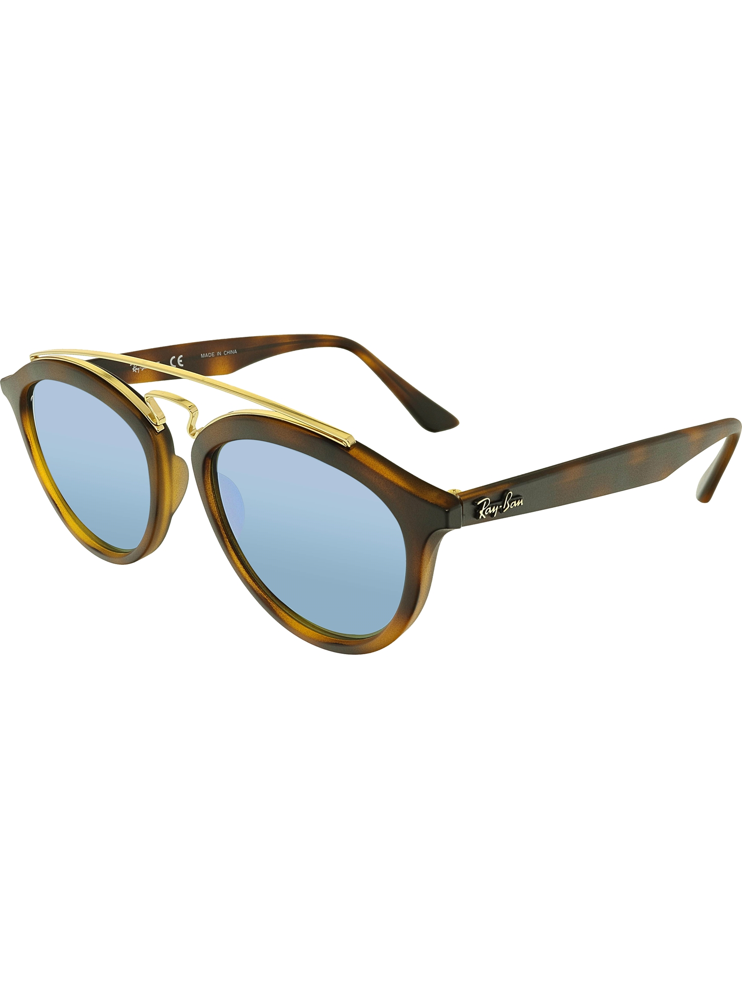d621792014d Ray-Ban Mirrored Gatsby II RB4257-609255-53 Brown Round ...