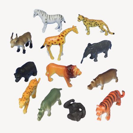 US Toy Mini Wild Animals Action - Us Toy Store