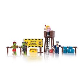 Roblox Mix Match Jailbreak Great Escape Figure 4 Pack Set