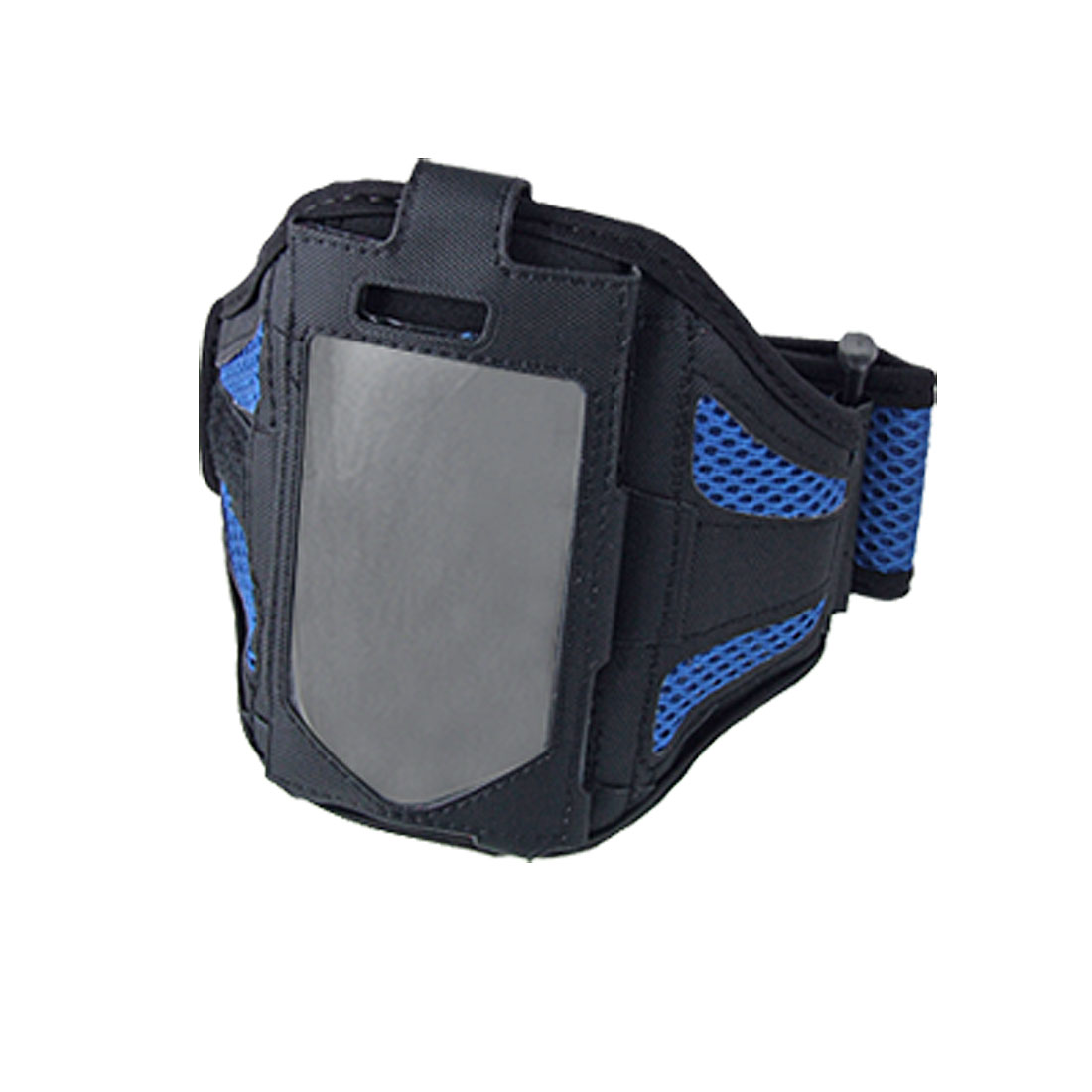 Velcro Closure Sports Blue Holder Armband for iPhone 4
