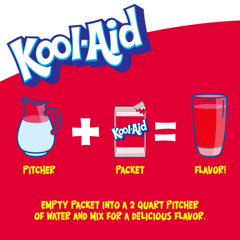 434b9352451 Kool-Aid Unsweetened Cherry Powdered Soft Drink 0.13 oz Envelope -  Walmart.com