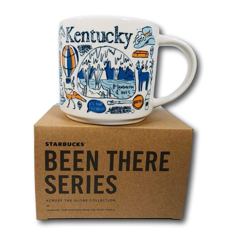 Ncaa Kentucky Wildcats Mugs - Starbucks Been There Series Collection Kentucky Coffee Mug New With Box