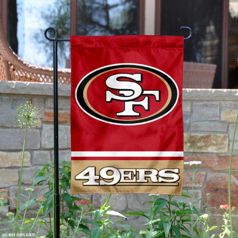 "San Francisco 49ers 12.5"" x 18"" Large NFL Garden Flag"