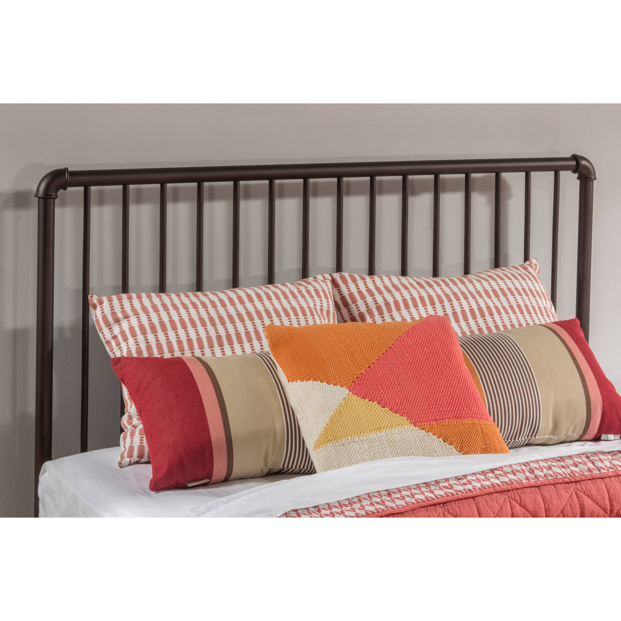 Hillsdale Furniture Brandi Metal Headboard and Bed Frame, Multiple Finishes and Multiple Sizes by Hillsdale Furniture