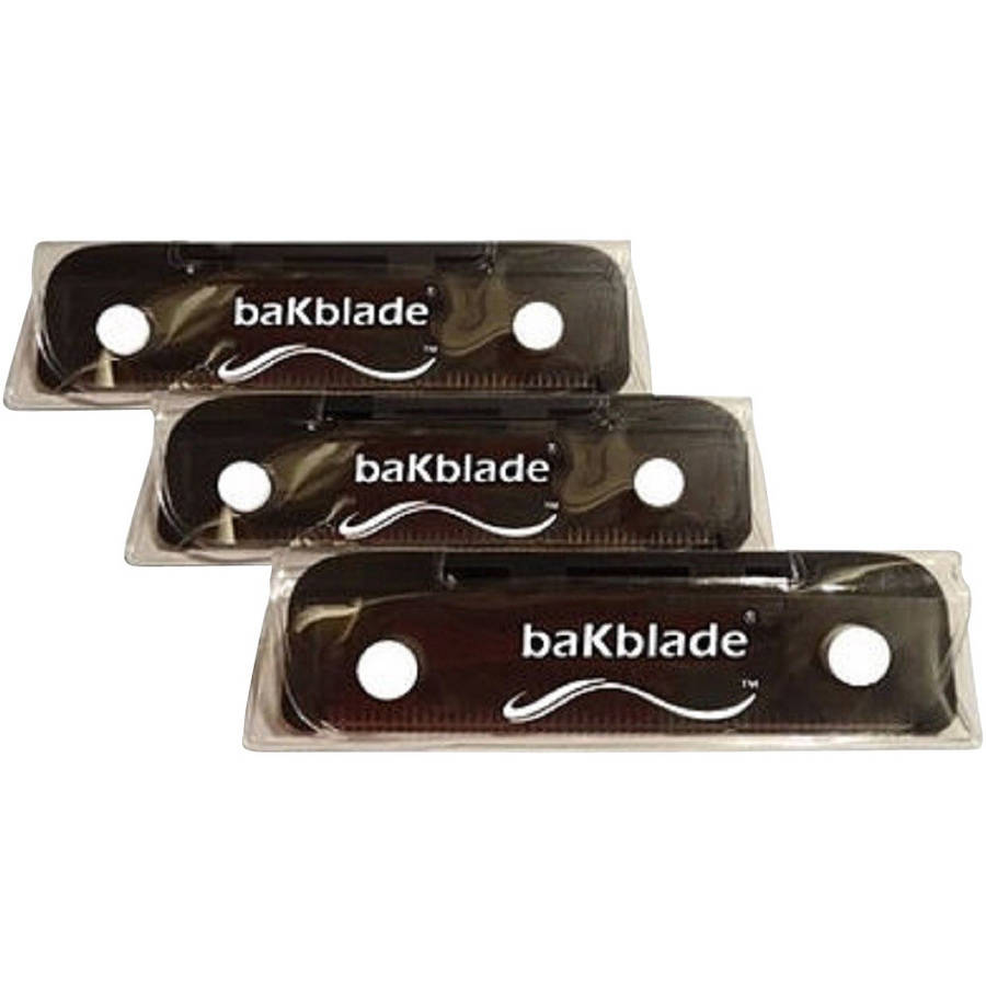 Bakblade Bigmouth DIY Back & Body Shaver Replacement Blades, BM103SET, 3 count