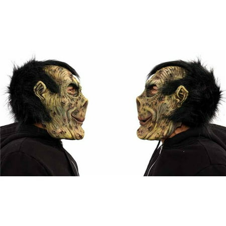 Zagone Studios N1053 Boris Zombie Monster Mask - Boris Halloween