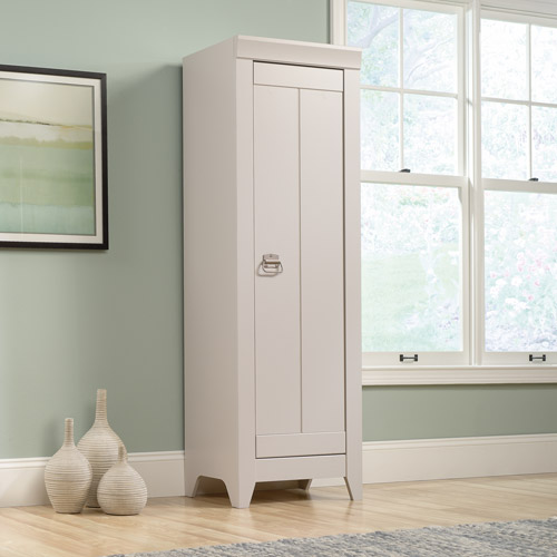 sauder bathroom cabinets sauder adept storage narrow storage cabinet 25856