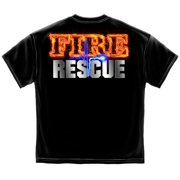Cotton Fire Rescue Full Front Maltese T-Shirt