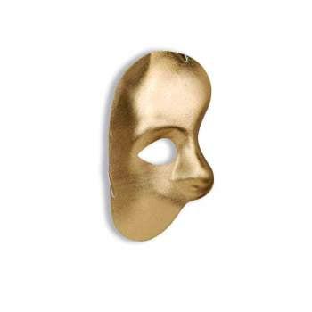 Gold Phantom Mask (1/2 MASK-PHANTOM-GOLD)