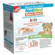 SINUS RINSE KIDS PREMIXED PACKETS - 120 CT