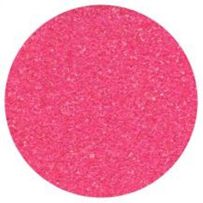 Pink Sanding Sugar 16 oz - National Cake Supply