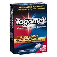 8 Pack Tagamet Acid Reducer, 200mg Cimetidine Tablets, 30 Count each
