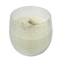 "Scented Soy Wax Candle - 5""Dia. - Earl Grey - Gold Foil"