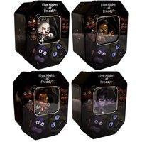 Five Nights At Freddy's Exclusive Holiday Collectors Tin Set of All 4 styles 'Mangle , Bonnie , Foxy & Freddy'