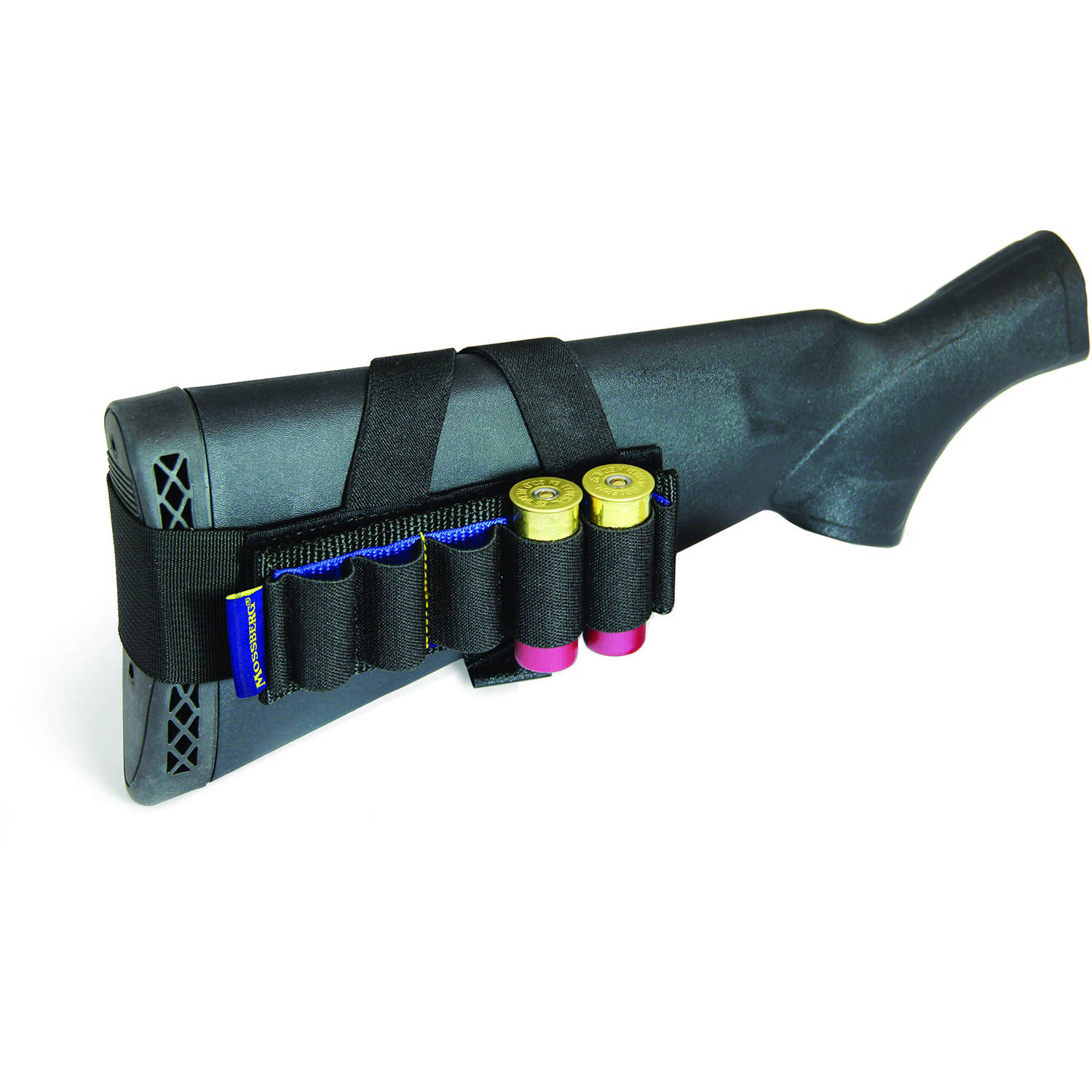 Mossberg Rear Stock Shell Carrier, 5 Round, Black