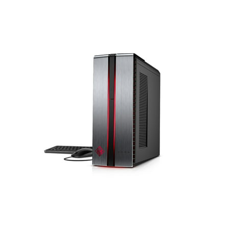 HP Omen Gaming Tower, Intel Core i7-7700, Nvidia Qtx 1070 8GB Graphic Card, 16GB Memory, 256GB SSD + 1TB HD, Windows 10 home,