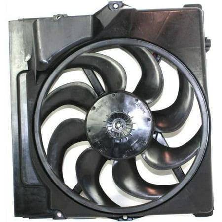 Sunbelt AC Condenser Fan Assembly For BMW 325i 328i BM3113106 Bmw 325i A/c Condenser