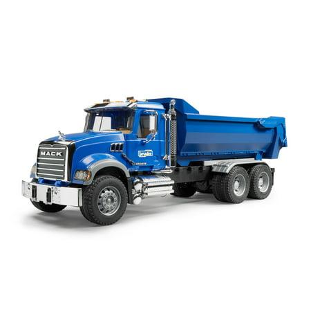 Bruder - MACK Granite Halfpipe Dump Truck