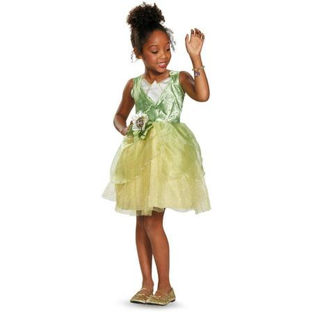 disney princess and the frog tiana classic child halloween costume