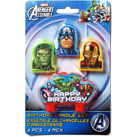 Avengers Cake Toppers Walmart