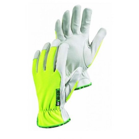 High-Visibilty Kobolt Reflector Work Gloves, Hi/Vis Yellow/White -  Hestra, 0033249300729