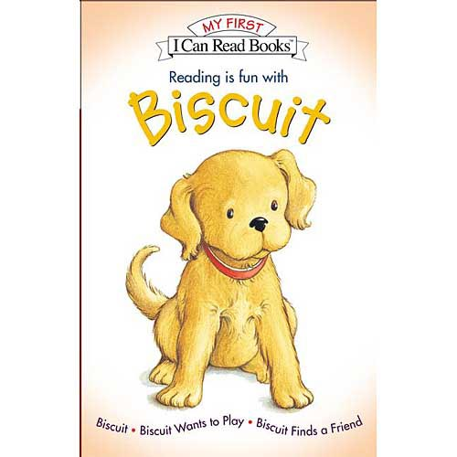 Reading Is Fun With Biscuit: Biscuit, Biscuit Wants to Play, & Biscuit Finds a Friend