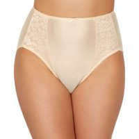 Bali Womens Essentials Double Support Hi-Cut Brief Style-DFDBHC