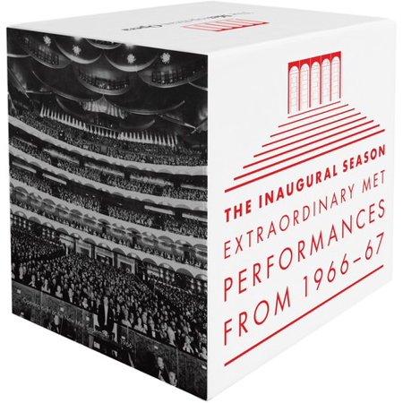 Inaugural Season Collectors - Metropolitan Opera - Inaugural Season: Extraordinary Met Performances From 1966-1967 [CD]