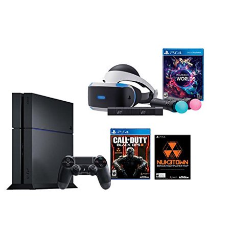 playstation vr launch bundle 2 items vr launch bundle ps4 call of duty black. Black Bedroom Furniture Sets. Home Design Ideas