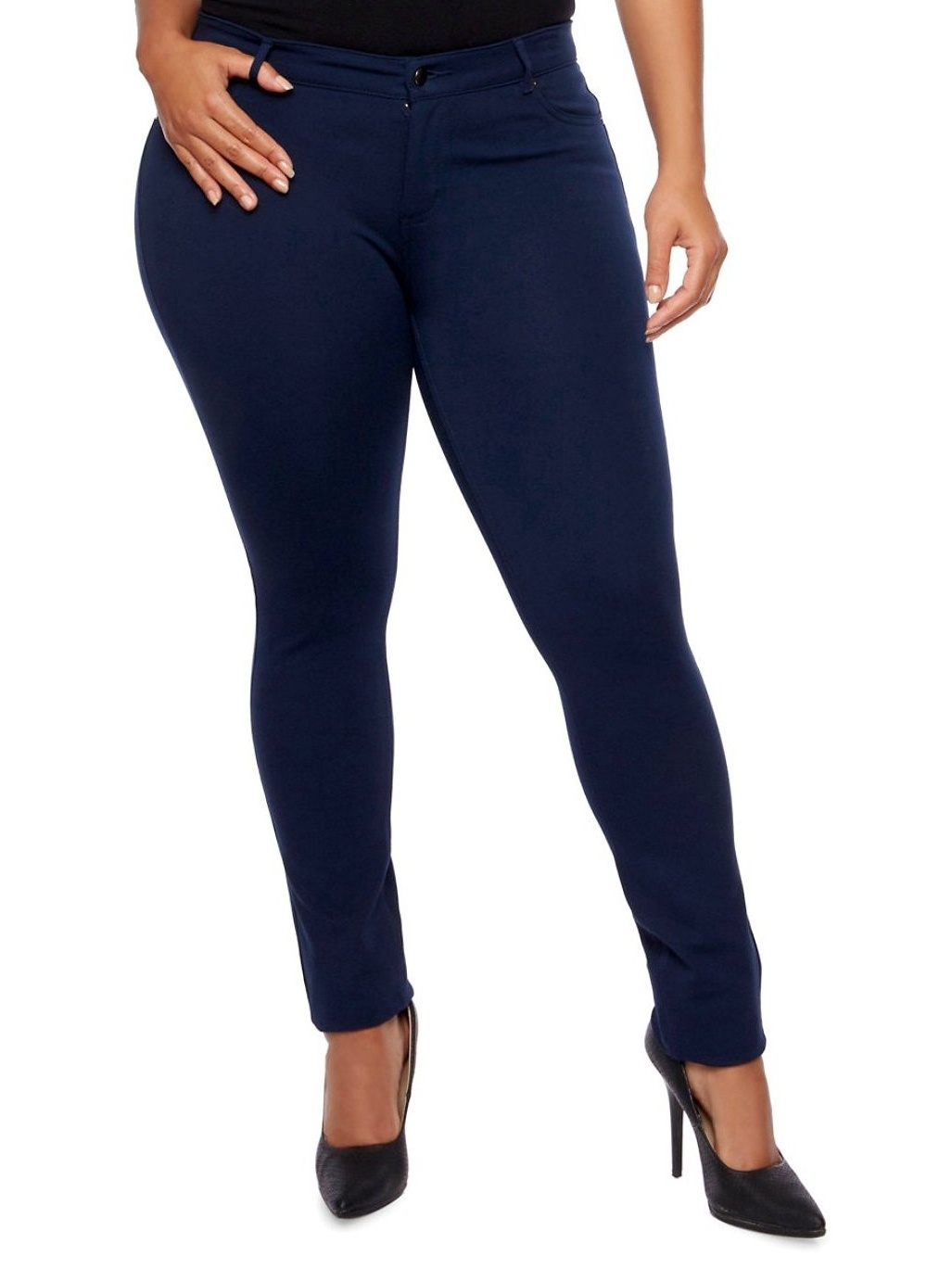 1826 Jeans Women's Plus Size Moleton Pants Cotton French Terry Plus Size