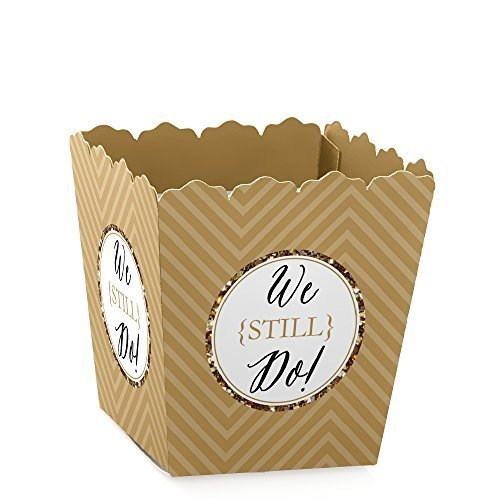 We Still Do - 50th Wedding Anniversary Candy Boxes Party Favors (Set of 12)