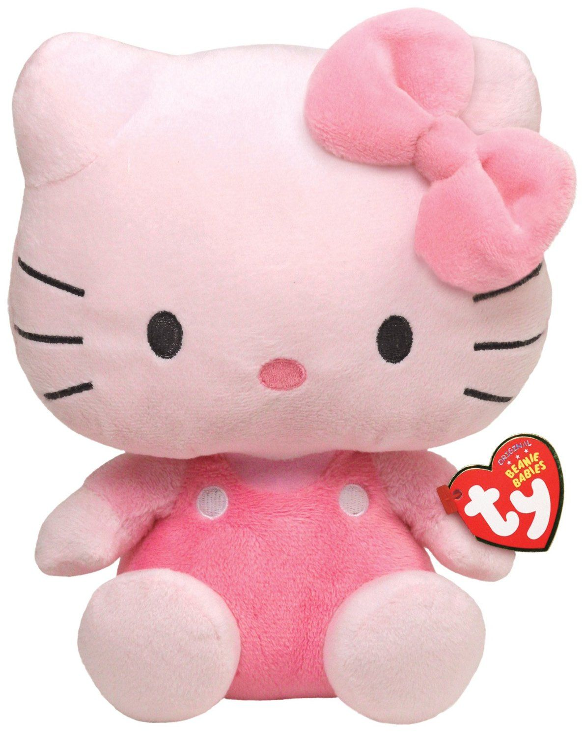 Hello Kitty Pink Beanie Baby Stuffed Animal by Ty (40894) by TY