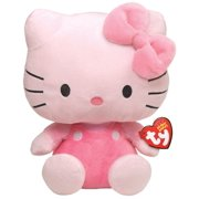 Hello Kitty Pink Beanie Baby - Stuffed Animal by Ty (40894)