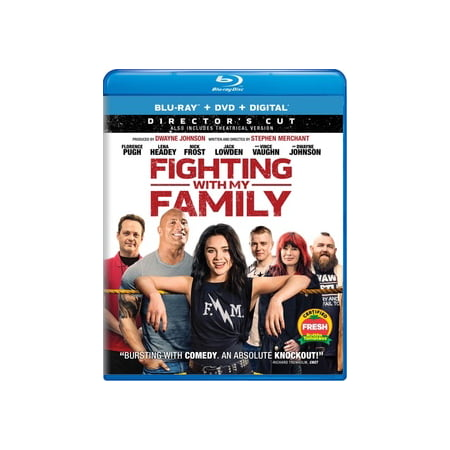 Fighting with My Family (Blu-ray) - Halloween Themed Movies For Families