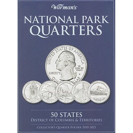 National Park Quarters Collector's Quarter Folder 2010-2021