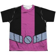 Teen Titans Go - Beast Boy Uniform (Front/Back Print) - Youth Short Sleeve Shirt - Small