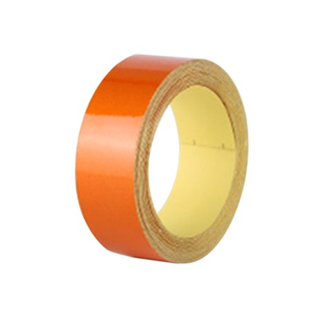Reflective Waterproof Safety Warning Tape Sheeting Sticker for Auto Motorcycle Bike Truck Car Styling