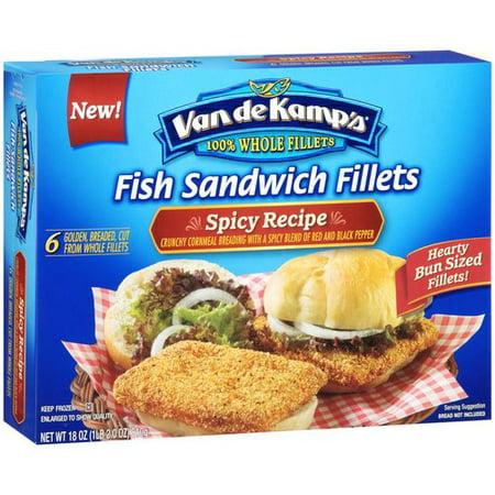 019600920403 upc van de kamp 39 s spicy recipe fish for Fish stick sandwich