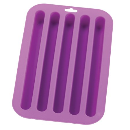 HIC Silicone Ice Cube, Chocolate, Candy, Baking and Craft Mold, Non-Stick Heat-Resistant Fun Novelty Shapes, 8 by 4.5-Inches