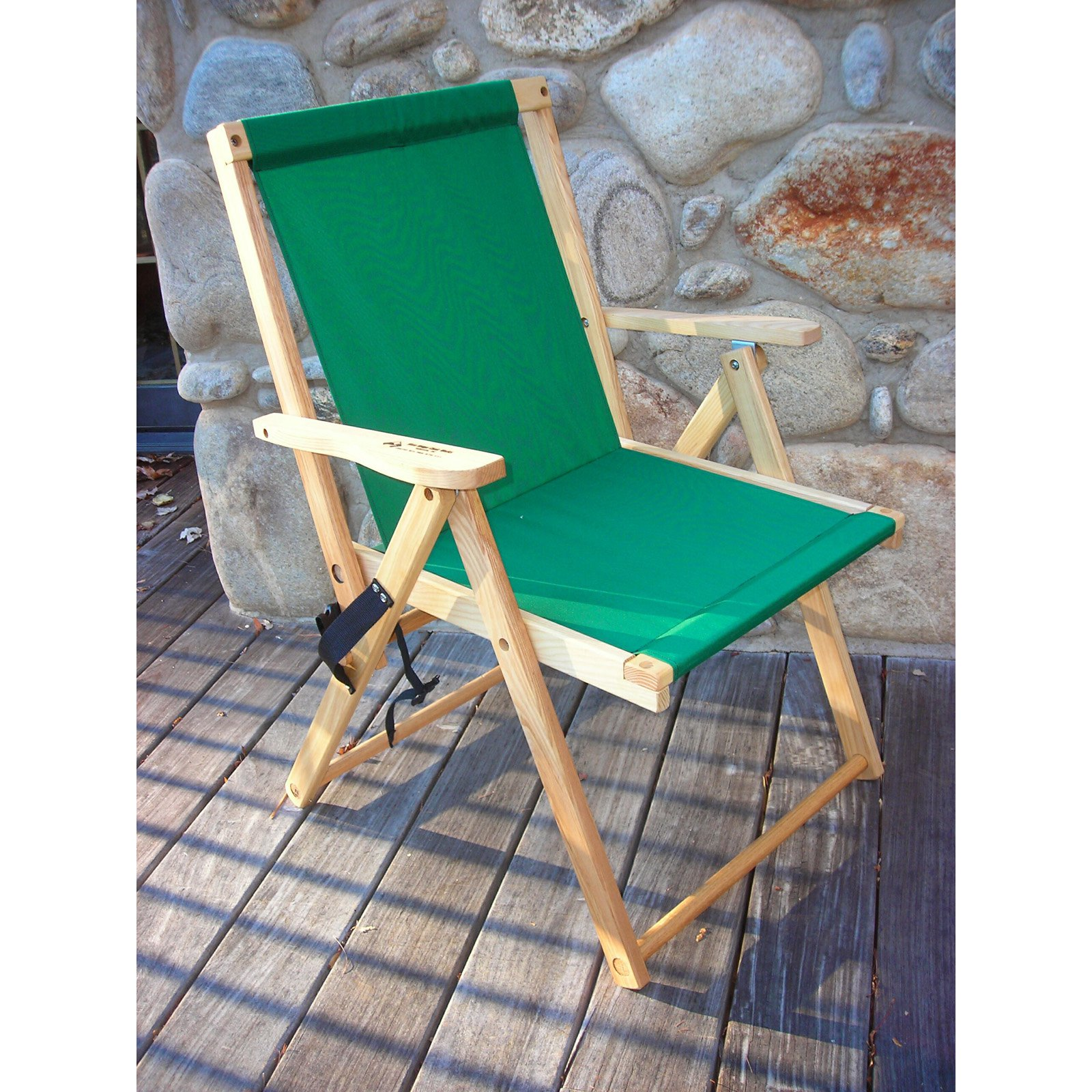Blue Ridge Highlands Outdoor Directors Deck Chair