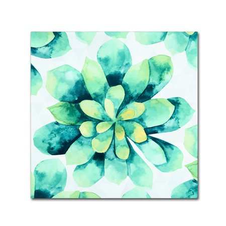 Trademark Fine Art 'Tropical Flower' Canvas Art by Mark - Tropical Flower