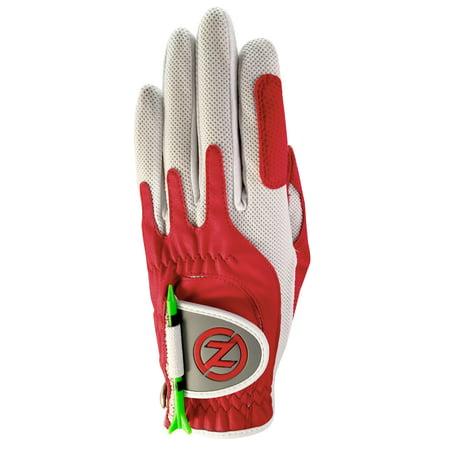 Zero Friction Left Hand Golf Glove - Women's (Red)