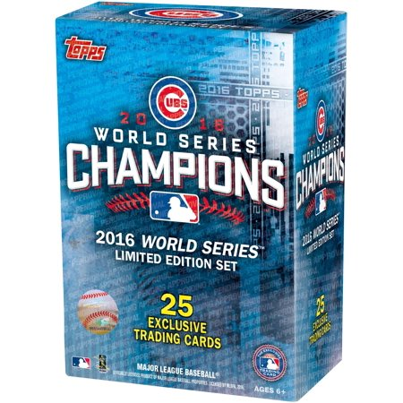 2016 Topps Chicago Cubs World Series Commemorative 25 Card Set (Perry Signed Card)