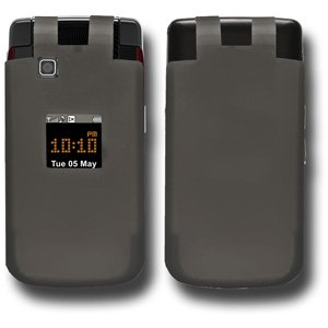 HTC Case, Premium Silicone Skin Back Case Protective Flexible Cover for HTC DROID Incredible PB31200 - Grey