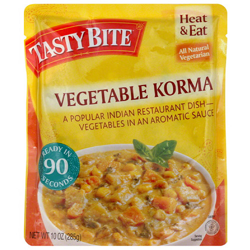 Tasty Bite Vegetable Korma Entree, 10 oz, (Pack of 6)